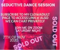 Seducive dance session on 7th October. Join me on Saturday night dont miss out! Subscribe to my page to access my link and we can also talk privately. This time it's going to be bigger and better Join me and let's have more fun